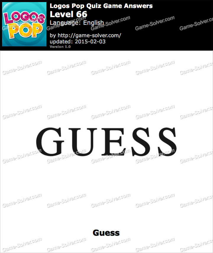 logos pop quiz game level 66 game solver