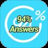 94 % Answers