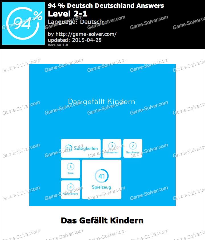 94 deutsch deutschland level 2 1 game solver. Black Bedroom Furniture Sets. Home Design Ideas