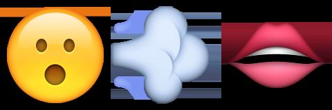 Blow job emoji