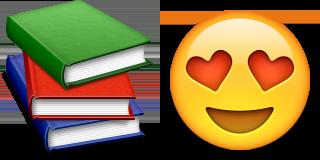 Guess up emoji book lover game solver