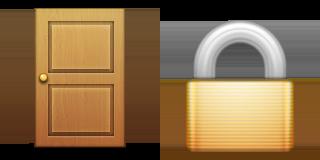 Guess Up Emoji Door Lock