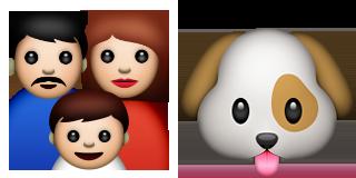 guess up emoji family dog game solver