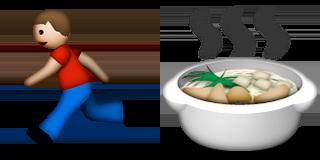 Guess Up Emoji Fast Food