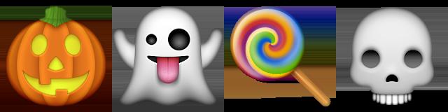 Bildergebnis für halloween emojis