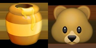 Guess Up Emoji Honey Bear Game Solver