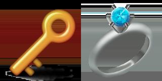 Guess Up Emoji Key Ring Game Solver Wedding