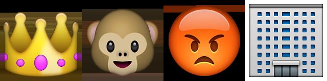 Guess Up Emoji King Kong