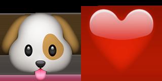 Guess Up Emoji Puppy Love