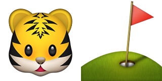 Guess Up Emoji Tiger Woods Game Solver