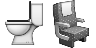 Guess Up Emoji Toilet Seat Png