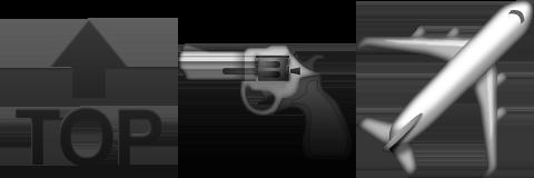 Guess Up Emoji Top Gun - Game Solver