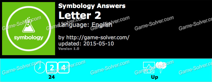 Symbology Answers with 2 Letters