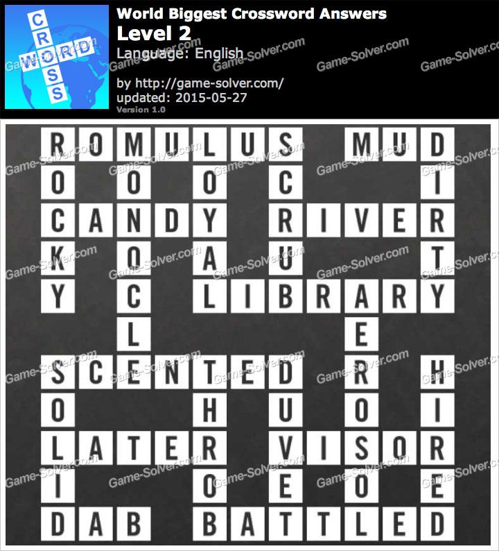 Worlds Biggest Crossword Level 2