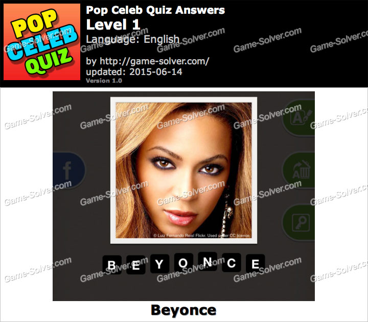 Pop Celeb Quiz Level 1