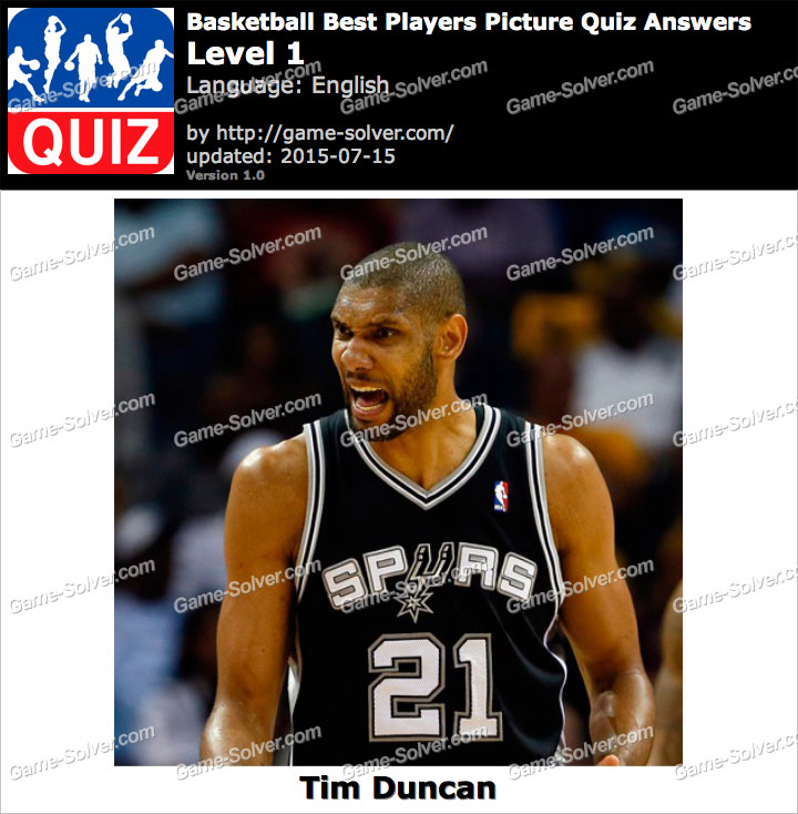 Basketball Best Players Picture Quiz Level 1