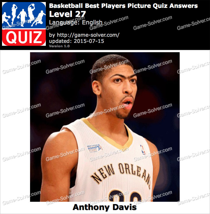 Basketball Best Players Picture Quiz Level 27 Game Solver