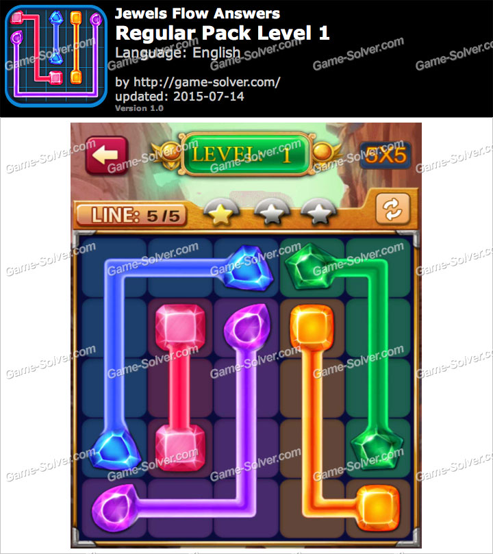 Jewels Flow Regular Pack Level 1