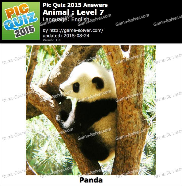 Pic Quiz 2015 Animal Level 7 - Game Solver