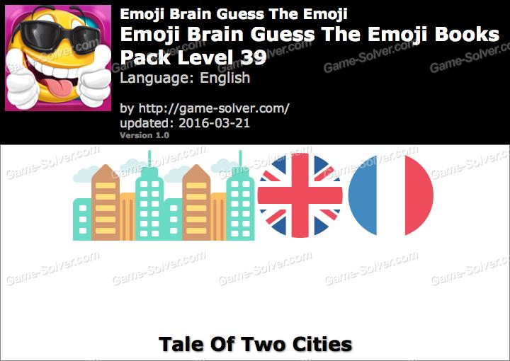 Level 39 Guess The Emoji Emoji Brain Gue...
