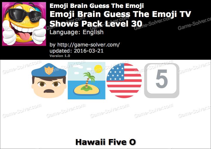 Emoji Brain Guess The Emoji TV Shows Pack Level 30 Answers ...  Emoji Brain Gue...