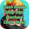 Clash Royale Shop Card Purchase Cheat Sheet