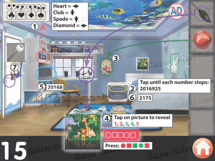 Diamond Room Escape Game Walkthrough