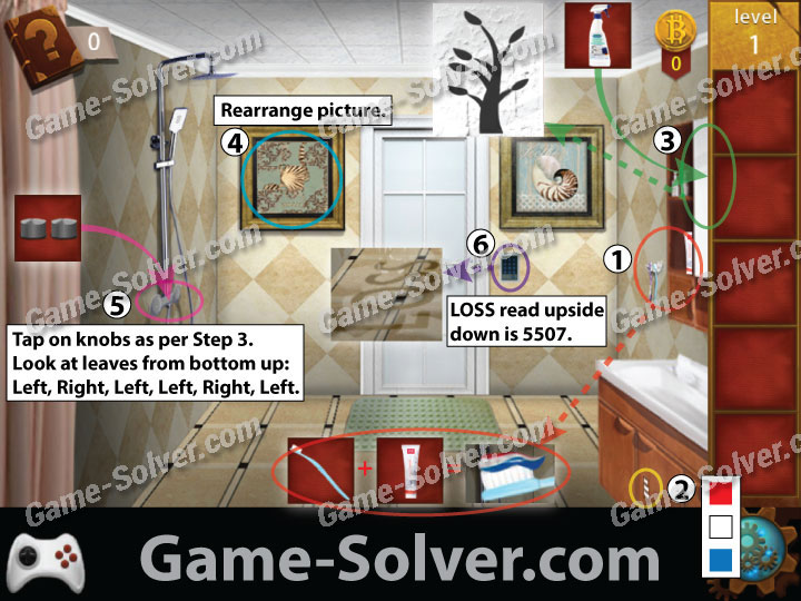 Escape The Bathroom Level 4 escape room: apartment 12 walkthrough - game solver