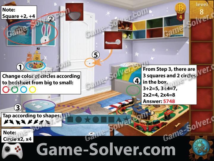 Apartment Room Escape Walkthrough Level M Intended