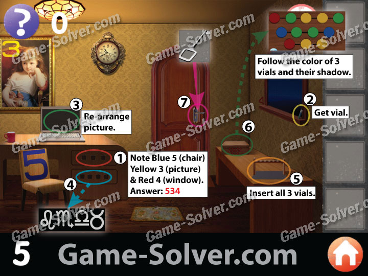 Escape The Room  On Facebook Level Walkthrough
