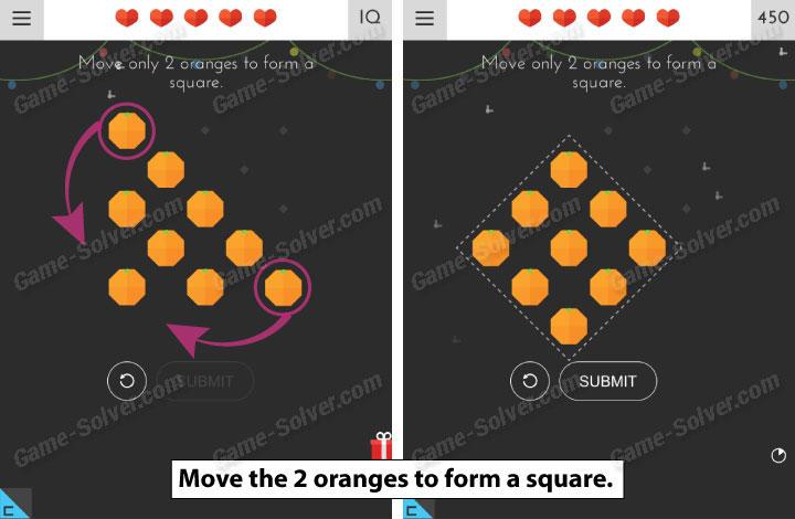 Tricky Test 2 Genius Brain Level 66 - Game Solver