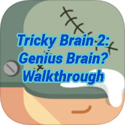 Tricky Test 2 Genius Brain Level 7 Game Solver