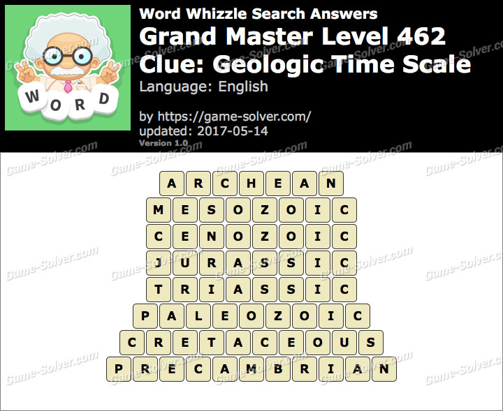 Geologic time word whizzle answers picture gallery word whizzle search grand master level 462 answers ibookread ePUb