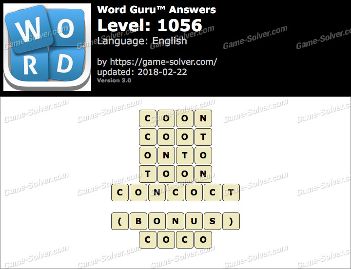 Word Guru Level 1056 Answers