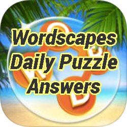 Wordscapes Daily Puzzle Answers Game Solver