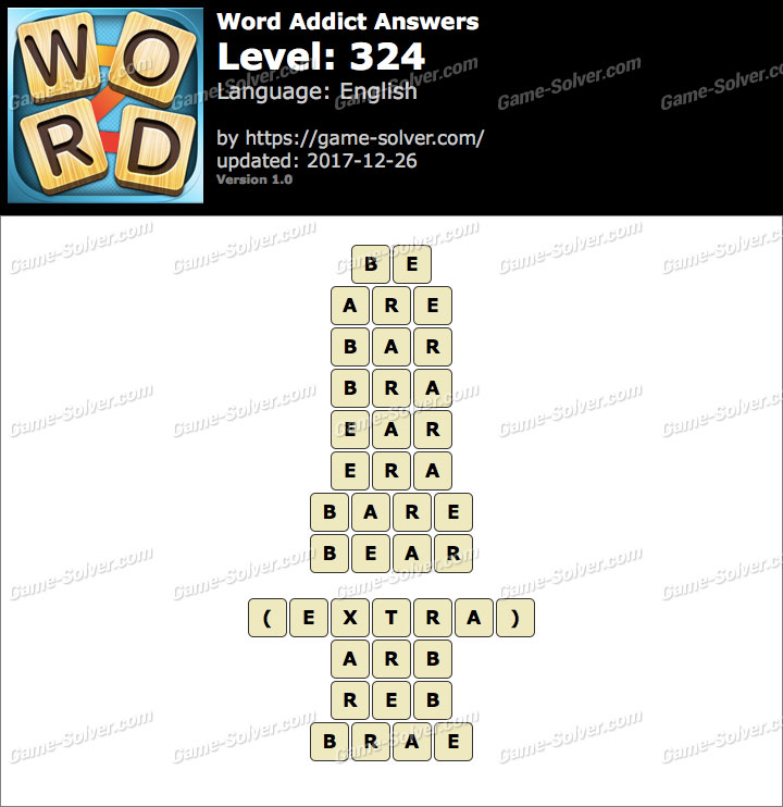 Word Addict Level 324 Answers