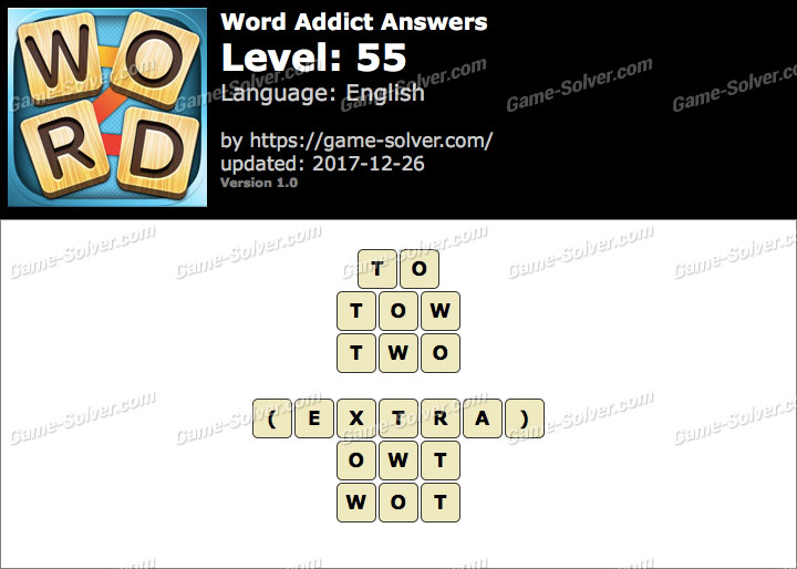Word Addict Level 55 Answers