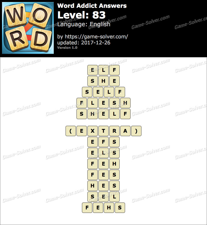 Word Addict Level 83 Answers