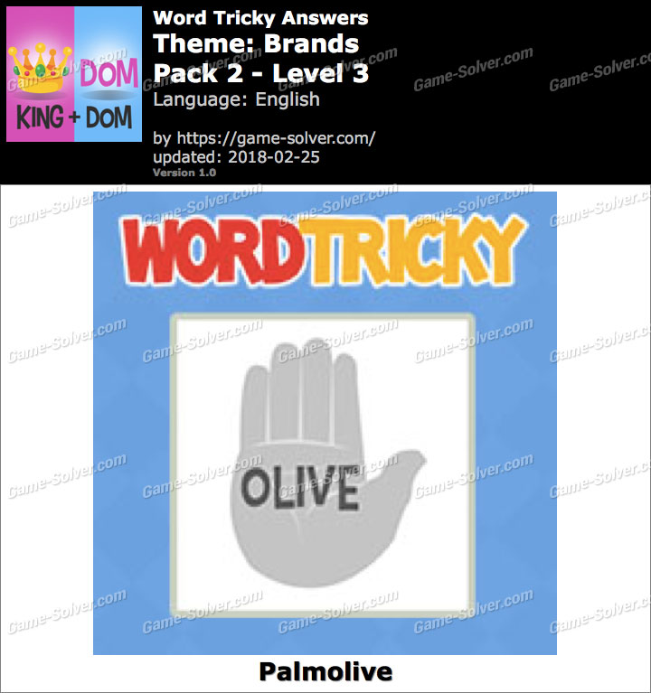 Word Tricky Brands Pack 2-Level 3 Answers