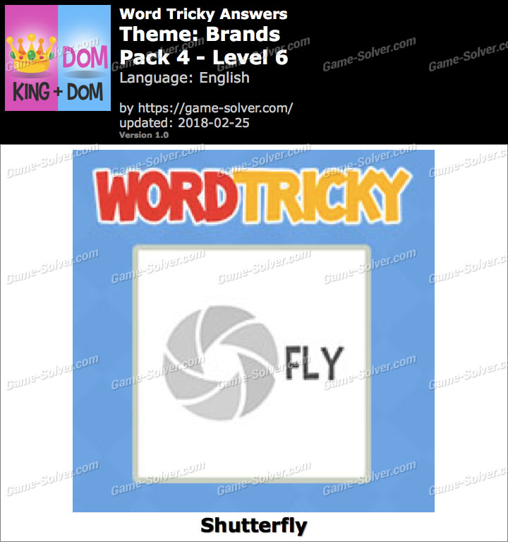 Word Tricky Brands Pack 4-Level 6 Answers