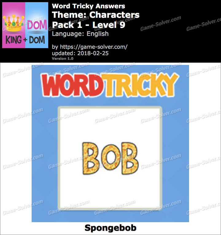 Word Tricky Characters Pack 1-Level 9 Answers