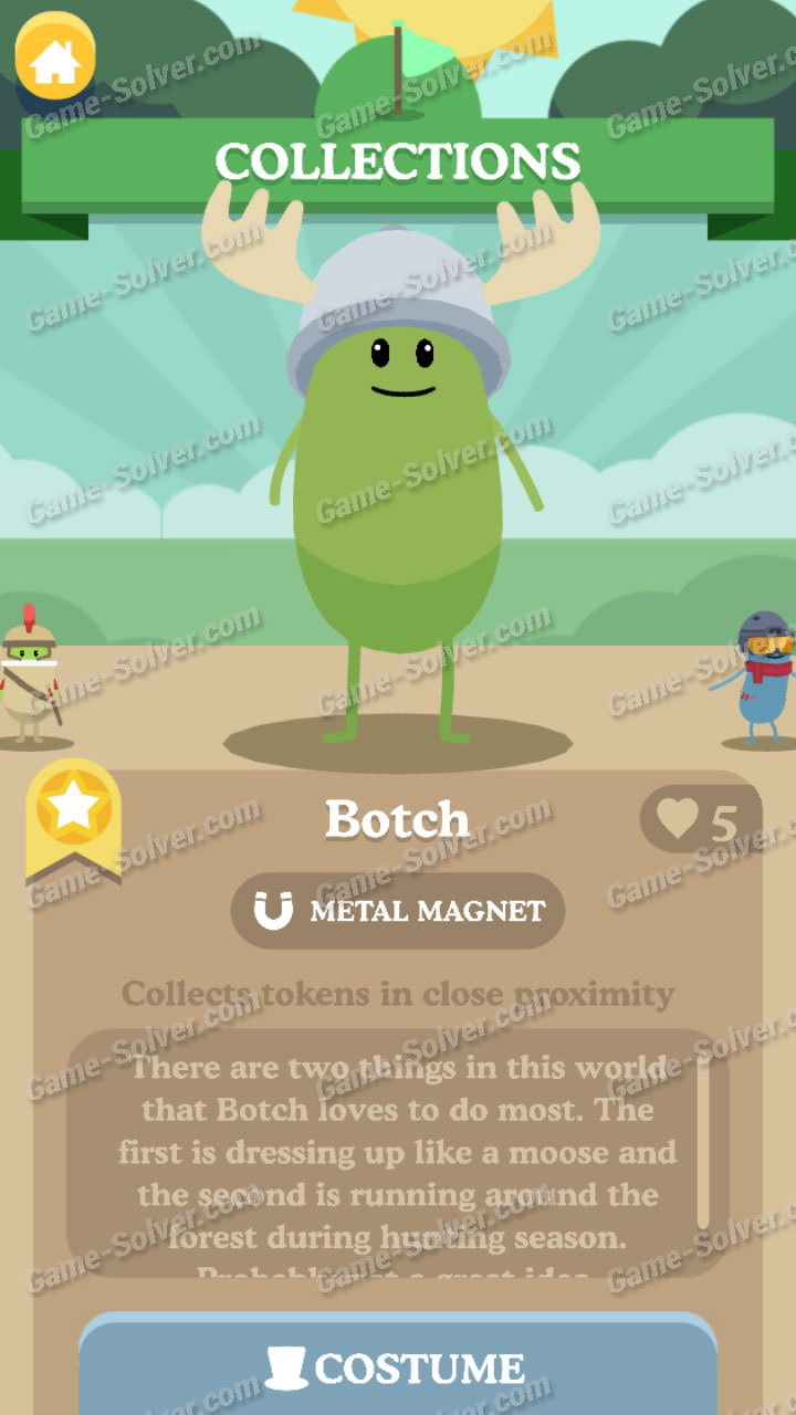 Dumb Ways To Die 3 Characters-Botch