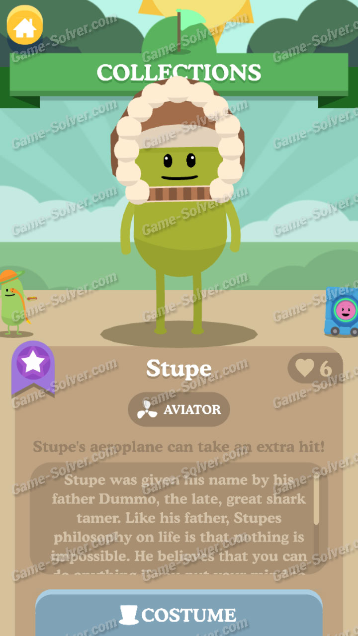 Dumb Ways To Die 3 Characters-Stupe