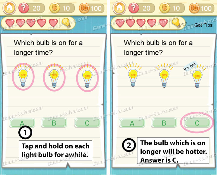 Tricky Challenge 2 Level 20 Answers