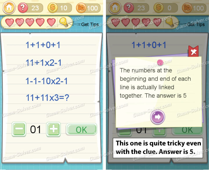Tricky Challenge 2 Level 23 Answers