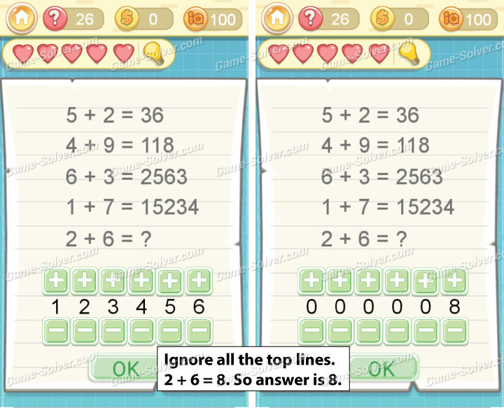 Tricky Challenge 2 Level 26 Answers