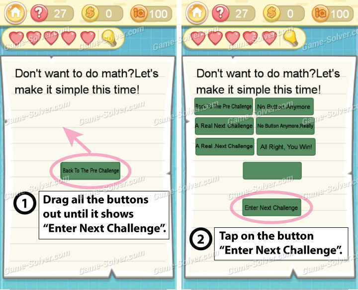 Tricky Challenge 2 Level 27 Answers