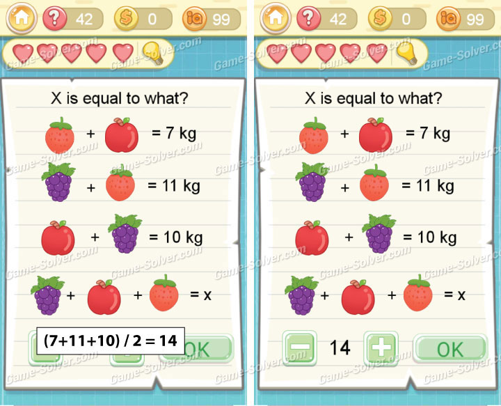 Tricky Challenge 2 Level 42 Answers