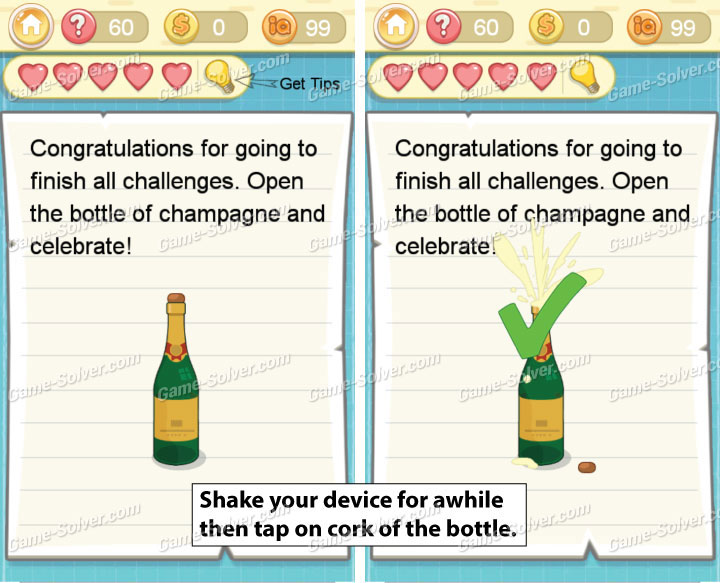 Tricky Challenge 2 Level 60 Answers
