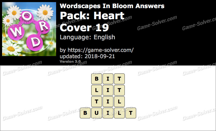 Wordscapes In Bloom Heart-Cover 19 Answers